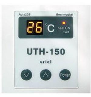 Терморегулятор для теплого пола UTH-150 встраиваемый