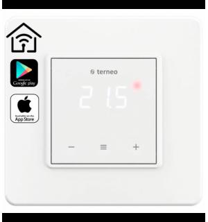 Терморегулятор TERNEO-SX(WIFI)(так-же есть в цвете слоновая кость)