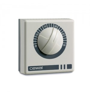 Терморегулятор комнатный накладной Cewal RQ-10 (Италия)